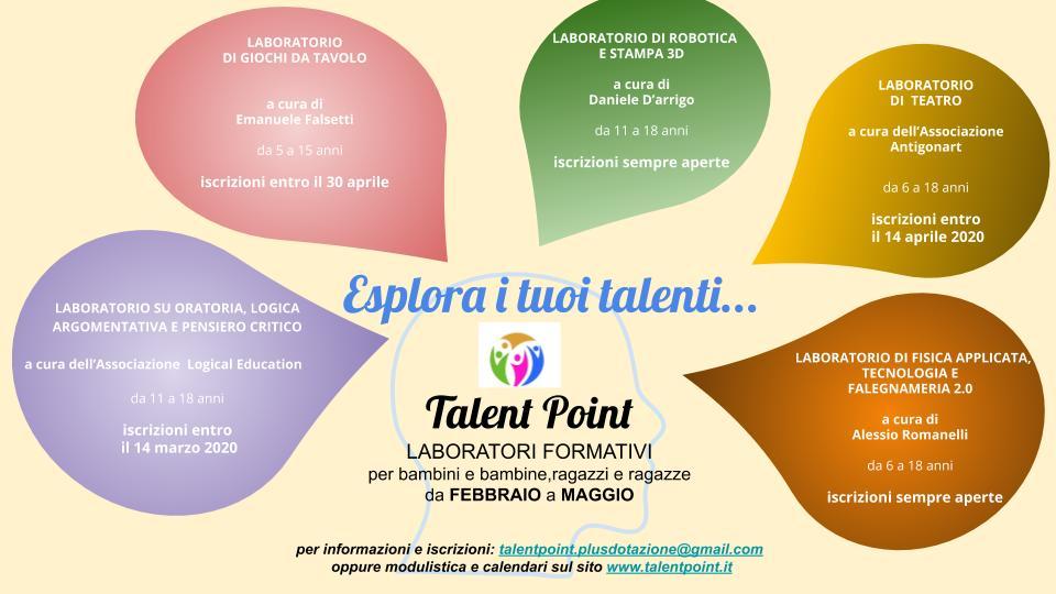 Esplora i tuoi talenti
